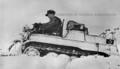 Whitewashed Sd Kfz 2.