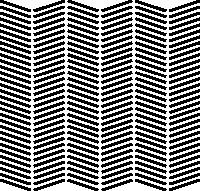 7. Similar al patrón dos, pero con las crestas intercambiando diagonales.